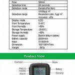 les détecteurs de température le testeur ménages détecteur d'humidité (qualité de l'air de détection de la marque 阿格瑞斯 image 2 produit