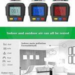les détecteurs de température le testeur ménages détecteur d'humidité (qualité de l'air de détection de la marque 阿格瑞斯 image 3 produit
