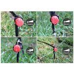 Majome 2en 1spray goutte d'irrigation Tuyau d'arrosage 40m automatique kit goutte pour plantes de jardin et serre de la marque Majome image 3 produit