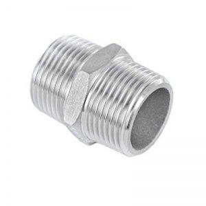 Manchon double acier inoxydable V4A raccord fileté mâle externe de la marque KI Fittings image 0 produit