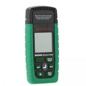 MASTECH MS6900Mini humidimètre numérique professionnelle en bois/Bois/béton Bâtiments Testeur d'humidité avec écran LCD de la marque Générique image 0 produit
