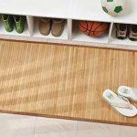 mDesign grand tapis de bain (lot de 2) – tapis de douche pour la baignoire, la douche ou la cuisine – tapis de bain antidérapant – nature de la marque MetroDecor image 1 produit