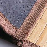 mDesign grand tapis de bain (lot de 2) – tapis de douche pour la baignoire, la douche ou la cuisine – tapis de bain antidérapant – nature de la marque MetroDecor image 3 produit