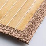 mDesign grand tapis de bain (lot de 2) – tapis de douche pour la baignoire, la douche ou la cuisine – tapis de bain antidérapant – nature de la marque MetroDecor image 4 produit
