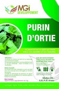 MGI DEVELOPPEMENT 5 L DE PURIN D'ORTIES 100% ENGRAIS NATUREL MADE IN FRANCE de la marque MGI DEVELOPPEMENT image 0 produit
