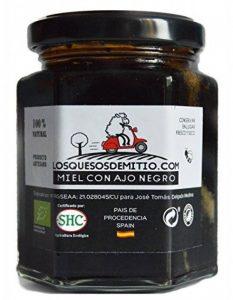 Miel à l'ail noir BIO de Losquesosdemitio (naturel, sans colorants ni conservateurs, délicieux, artisanal, deux pots, origine Espagne, 480g) de la marque La Hita image 0 produit