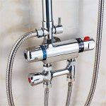 MIWANG Simple moderne douche douche, douche chaude froide cuivre automatique Prix robinet, chauffe-eau Chauffe-eau solaire,la vanne de mélange B de la marque MIWANG image 1 produit