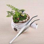 Mkouo 7 Kit Outils de Jardinage - Comprend une trousse de jardinage à pelle, sécateur, râteau, pince à épiler et flacon pulvérisateur de la marque Mkouo image 3 produit