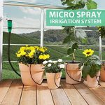 Mopalwin Kits d'irrigation, Micro l'irrigation des Plantes Système d'arrosage DIY Avec 10m Tuyau pour Fleurs, Plantes, Bonsaï, Jardin et Terrasse de la marque Mopalwin image 1 produit