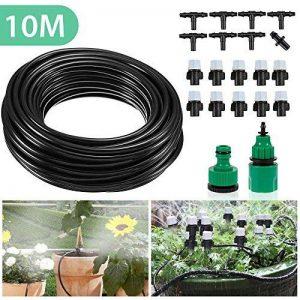 Mopalwin Kits d'irrigation, Micro l'irrigation des Plantes Système d'arrosage DIY Avec 10m Tuyau pour Fleurs, Plantes, Bonsaï, Jardin et Terrasse de la marque Mopalwin image 0 produit