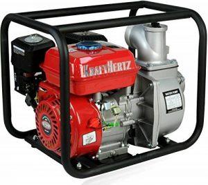 Moteur Hertz® Essence Pompe à eau Pompe pour eaux usées boue Pompe Pompe de bassin Pompe de jardin de la marque KRAFTHERTZ image 0 produit