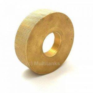 Multitanks - Bouchon femelle S60x6 - femelle 3/4 pouce en laiton - S60x6 de la marque Multitanks image 0 produit