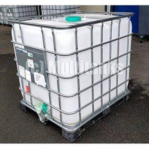Multitanks - Cuve 1000 litres blanche sur palette plastique ou acier de la marque Multitanks image 0 produit