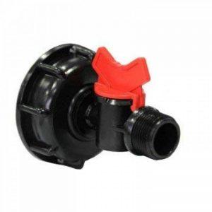 Multitanks - Raccord avec mini vanne filetée 3/4 pouce male - 3/4'' BSP de la marque Multitanks image 0 produit