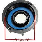 Multitanks - Raccord robinet en laiton chromé sortie 3/4'' 90 degrés - 3/4'' BSP de la marque Multitanks image 1 produit