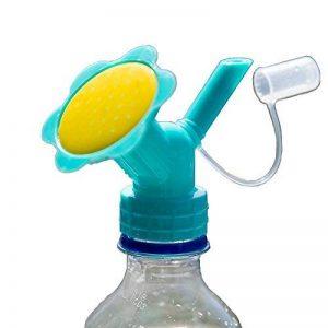 MyLifeUNIT Arroseur Bouchon de bouteille, bouteille à double tête d'arrosage Bec, bonsaï Arrosoir pour l'intérieur Jeunes Plants de la marque MyLifeUNIT image 0 produit