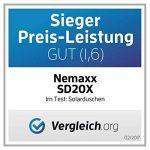 Nemaxx SD20X Douche solaire 20L acier inoxydable camping piscine robinet mitigeur jardin mélangeur de la marque Nemaxx image 3 produit