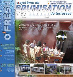 O'FRESH 020 Brumisateur de terrasse 6 m avec 6 buses de la marque O'FRESH image 0 produit