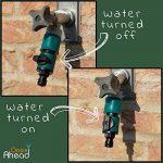 Oasis tuyau d'arrosage avant Vanne d'arrêt d'eau avec connexion rapide de la marque Oasis image 1 produit
