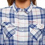 oodji Ultra Femme Chemise à Carreaux avec Poches Poitrine de la marque oodji Ultra image 2 produit