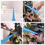 OUNONA 4pcs d'arrosage automatique d'irrigation Spike de fleur de jardin Drip Arroseur d'irrigation Kits de la marque OUNONA image 2 produit