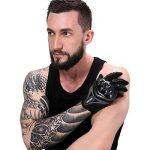 Paire Noir Gants Doigt Complet Protection L Moto Vélo Sport Femme Homme Moto gants de protection Fonctionnement de l'écran tactile de la marque IRON JIA'S image 2 produit