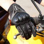 Paire Noir Gants Doigt Complet Protection L Moto Vélo Sport Femme Homme Moto gants de protection Fonctionnement de l'écran tactile de la marque IRON JIA'S image 3 produit