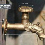 Palazzo Int Robinet en tant que tête de lion avec manivelle pour l'extérieur Jardin, robinet, Antique de la marque MD technic image 1 produit