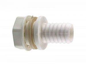 Passe paroi / Traversée de paroi 3/4'' (20x27) cannelé 19 mm de la marque Générique image 0 produit