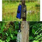 Pawaca 5-gallon extérieur portable Douche solaire Sac de l'eau, chauffage, Sac de douche avec tuyau amovible et On-Off Switch-able Pomme de douche pour voyage randonnée d'escalade de la marque Pawaca image 3 produit