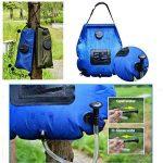 Pawaca 5-gallon extérieur portable Douche solaire Sac de l'eau, chauffage, Sac de douche avec tuyau amovible et On-Off Switch-able Pomme de douche pour voyage randonnée d'escalade de la marque Pawaca image 1 produit