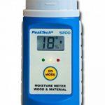 Peak Tech en bois et matériaux Humidimètre avec interchangeables Pointes de test, 1pièce, P 5200 de la marque PeakTech image 1 produit