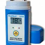 Peak Tech en bois et matériaux Humidimètre avec interchangeables Pointes de test, 1pièce, P 5200 de la marque PeakTech image 2 produit