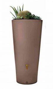 PEGANE Récupérateur d'eau de pluie 2 en 1 Vaso 220 L - Dim : D 58 x H 120 cm de la marque PEGANE image 0 produit