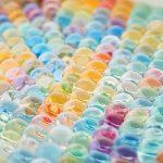 Perles d'eau 260g (40000 PCS) Orbeez hydrogel gelée agrandis balle mélangé avec arc-en-ciel pour les enfants tactiles jouets sensoriels, vases, plantes, mariages et décor à la maison. de la marque Meching image 1 produit
