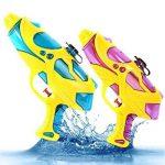 Pistolet à Eau Puissant Lot de 2 PLUIESOLEIl Pour Enfants et Adultes de la marque PluieSoleil image 4 produit