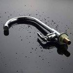 pivotant à 360degrés Laiton robinet d'eau froide évier de cuisine Lavabo Robinet, Chromé de la marque CZ image 1 produit