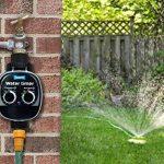Plant It Minuterie d'arrosage - Comprend un filtre en ligne et diverses options de connexion - Fonctionne avec l'alimentation par gravité et la pression du réseau d'eau de la marque Plant It image 1 produit