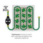 Plant It Minuterie d'arrosage - Comprend un filtre en ligne et diverses options de connexion - Fonctionne avec l'alimentation par gravité et la pression du réseau d'eau de la marque Plant It image 4 produit