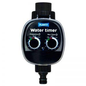 Plant It Minuterie d'arrosage - Comprend un filtre en ligne et diverses options de connexion - Fonctionne avec l'alimentation par gravité et la pression du réseau d'eau de la marque Plant It image 0 produit