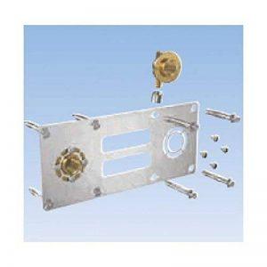 plaque de fixation pour raccord à sertir entraxe 150 pour tube per robifix diamètre : 16 réf. 008825 de la marque Gripp image 0 produit