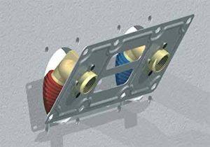 plaque de fixation pour raccord à sertir entraxe 150 pour tube per robifix diamètre : 12 réf. 008821 de la marque Gripp image 0 produit