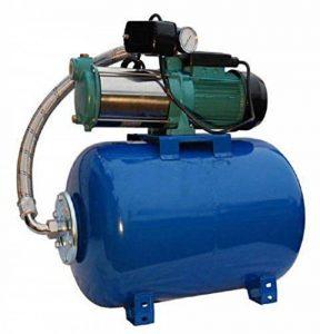Pompe d'arrosage POMPE DE JARDIN pour puits 1100 W, 230V, 95l/min + ballon surpresseur 50 de la marque MHI1100+50L OMNIGENA image 0 produit