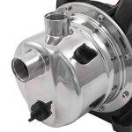 Pompe à eau de surface inox auto-amorcante 800W REF 30118 de la marque Berlan image 1 produit