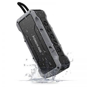 POWERADD Enceinte Bluetooth Portable, Haut-Parleur Waterproof avec 4 Speakers en 36W Total Main Libre Basse Perfomante pour Android, iPhone et Autres Appareils Bluetooth - Gris de la marque POWERADD image 0 produit