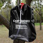 Primi 40L utile Camping Sac de douche solaire portable (Noir) de la marque PriMI image 1 produit