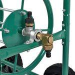 """""""[pro.tec] enrouleur de tuyau métallique (XL) Profi (connexions 3/4 """""""") (couleur : vert) - déroulement à 90° dans le sens de la marche"""" de la marque Pro Tec image 4 produit"""