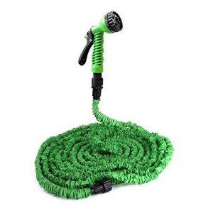 [pro.tec] tuyau de jardin flexible (30m déroulé) tuyau flexible avec embout multifonction de la marque ProTec image 0 produit