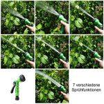 [pro.tec] tuyau de jardin flexible (30m déroulé) tuyau flexible avec embout multifonction de la marque ProTec image 2 produit
