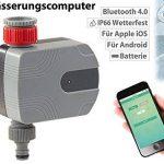 Programmateur d'arrosage avec bluetooth commandé par application de la marque Royal gardineer image 1 produit